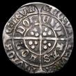 London Coins : A156 : Lot 1708 : Groat Edward IV or V with the Sun halved with Rose mint mark on both sides S2146A with no pellet bel...