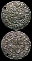 London Coins : A156 : Lot 1746 : Pennies Aethelred II (2) Last Small Cross type S.1157 Winchester Mint, moneyer Willem VF with some p...