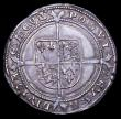 London Coins : A156 : Lot 1809 : Sixpence Edward VI Fine silver issue S.2483 mintmark y, a strong GVF the obverse with a couple of sm...