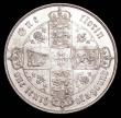 London Coins : A156 : Lot 2018 : Florin 1859 ESC 817 EF/NEF and lustrous with some contact marks