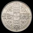 London Coins : A156 : Lot 2038 : Florin 1881 ESC 856 UNC with underlying lustre, a couple of tiny rim nicks, visible under strong mag...