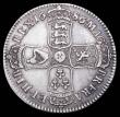 London Coins : A156 : Lot 2167 : Halfcrown 1686 SECUNDO ESC 494 pleasant aVF with even grey tone