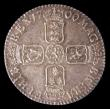 London Coins : A156 : Lot 2577 : Shilling 1700 Oval 0's in date ESC 1121 UNC and attractively toned, slabbed and graded LCGS 78