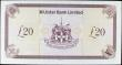 London Coins : A156 : Lot 280 : Northern Ireland Ulster Bank Limited £20 dated 3rd January 2012, replacement series Z0155962, ...