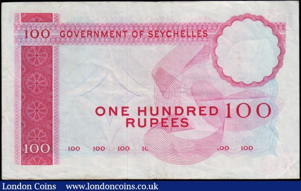 UNC Low Serial Number 1989 Seychelles Banknote P33 25 Rupees
