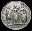 London Coins : A156 : Lot 988 : Coronation of Caroline 1727 34mm diameter in Silver Eimer 512 the official Coronation issue Obv. Bus...