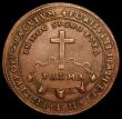 London Coins : A157 : Lot 1502 : Italian States - Doge Pasquale Cicogna (1585-1595) 1593 Essai Scudo in copper 44mm diameter, weight ...