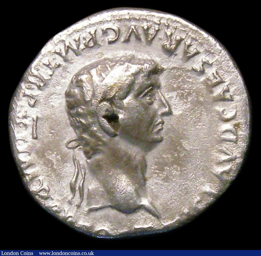 Claudius  Ar denarius  C, 46-47 AD  Rev
