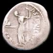 London Coins : A157 : Lot 1766 : Julius Caesar.  Ar denarius.  C, 49-44 BC.  Rev;  P SEPVLLIVS MACER, Venus Victrix standing left, ho...
