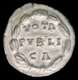 London Coins : A157 : Lot 1771 : Lucilla. Ar Denarius.  C, 164-169 AD.  Rev; VOTA PVBLICA; in three lines within wreath. RIC 791.  Sm...