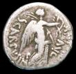 London Coins : A157 : Lot 1783 : MarK Antony and L. Pinarius Scarpus.  Ar Denarius.  C, 31 BC.  Obv; M•ANTO•COS•III&bu...