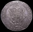 London Coins : A157 : Lot 1847 : Crown Charles I Group II, Second Horseman , type 2a, Smaller horse, with plume on head only, cross o...