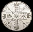 London Coins : A157 : Lot 2086 : Double Florin 1889 Second I in VICTORIA an inverted 1 ESC 398A EF/GEF and lustrous with some contact...