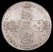 London Coins : A157 : Lot 2454 : Halfcrown 1751 ESC 610 choice GEF with subdued original brilliance and a scarce date in high grade, ...