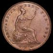 London Coins : A157 : Lot 2969 : Penny 1853 Plain Trident, Italic 5 Peck 1504 UNC or near so with traces of lustre, the reverse with ...
