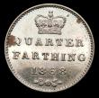 London Coins : A157 : Lot 3005 : Quarter Farthing 1868 Cupro-Nickel Proof Peck 1615 nFDC with some spots retaining much original mint...