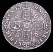 London Coins : A157 : Lot 3013 : Shilling 1684 ESC 1066 GVF and with an attractive grey tone, Very Rare, the finest example we have o...