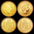 London Coins : A157 : Lot 3357 : Sovereign 2002 and Half Sovereigns 2002 (2) currency issues in Unc