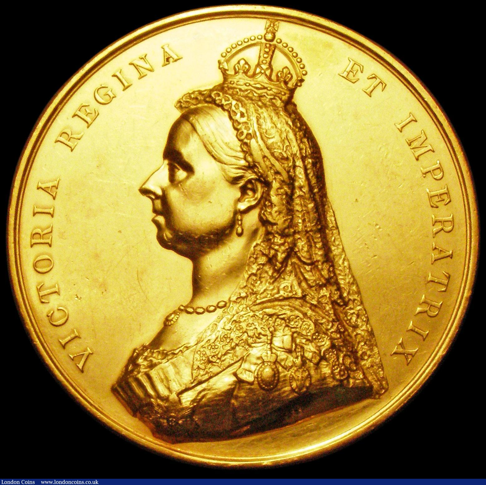 Golden Jubilee of Queen Victoria 1887 Eimer 1733 58mm diameter in
