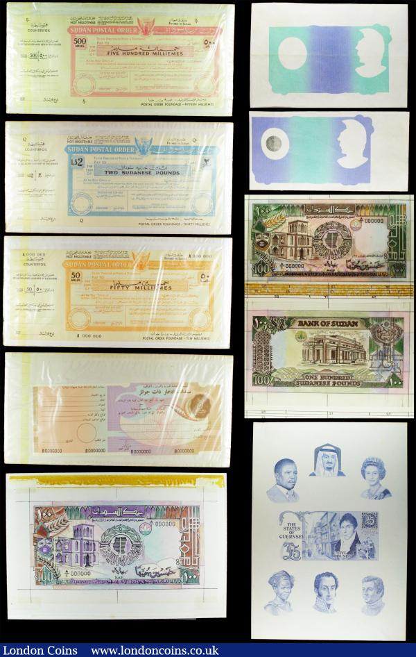 Coins & Paper Money French Equatorial Africa 1000 Francs Nd P-26 1947 Avf Grade Products According To Quality