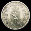 London Coins : A158 : Lot 1271 : Norway One Krone 1888 KM#357 GEF or better one of the key dates in the series