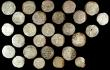 London Coins : A158 : Lot 1651 : Umayyad of Spain, Dirhams (27): al-Andalus 170h, 192h, 195h, 198h, 204h, 206h, 216h, 217h, 220h(3), ...