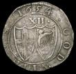 London Coins : A158 : Lot 1729 : Shilling 1654 Commonwealth, ENGLND error ESC 992 approaching VF with grey tone, Very Rare, rated R4 ...