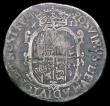 London Coins : A158 : Lot 1757 : Shilling Philip and Mary Full titles, undated, with mark of value S.2499 Near Fine/Fine with some co...