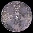 London Coins : A158 : Lot 1802 : Crown 1700 DVODECIMO ESC 97 EF with minor haymarks and adjustment lines, slabbed and graded LCGS 70