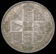 London Coins : A158 : Lot 1827 : Crown 1847 Gothic UNDECIMO ESC 288 UNC or very near so with minor cabinet friction and a few very li...