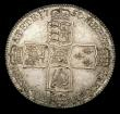 London Coins : A158 : Lot 2191 : Halfcrown 1750 ESC 609 UNC and attractively toned, slabbed and graded LCGS 82, the second finest kno...