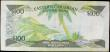 London Coins : A158 : Lot 243 : Eastern Caribbean Central Bank 100 Dollars issued 1988 - 1993 series A254418A Antigua, Pick25a1, por...