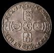 London Coins : A158 : Lot 2547 : Sixpence 1700 ESC 1579 GEF toned, slabbed and graded LCGS 70
