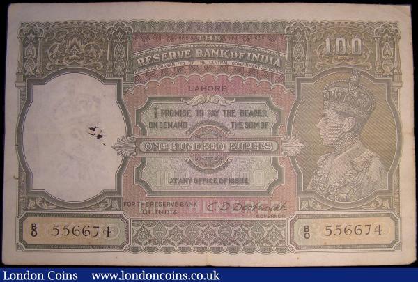 RESERVE BANK OF INDIA 10 RUPEES P-60 AU//UNC SIGN Malhotra 1985-1990