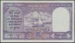 London Coins : A158 : Lot 307 : India Reserve Bank 10 Rupees issued 1943 series B/50 584768, Pick24, portrait KGVI at right, signed ...