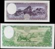 London Coins : A158 : Lot 408 : Nepal Central Bank (2) 100 Rupees issued 1961, Pick15, signature 8 & 5 Mohru issued 1960, Pick9,...