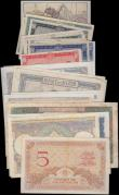 London Coins : A159 : Lot 1571 : Africa (30), Algeria (24) including 5 Francs 1941, 20 Francs 1944 and 100 Francs 1942, Tunisia 1 Fra...