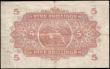 London Coins : A159 : Lot 1659 : East African Currency Board 5 Shillings dated 1st September 1950 series D/35 91865,  portrait King G...