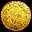 London Coins : A159 : Lot 1971 : Colombia 8 Escudos 1796 P-JF KM#62.2 VF with some small rim nicks