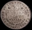 London Coins : A159 : Lot 2006 : German States - Brunswick-Wolfenbuttel 24 Mariengroschen 1817FR KM#1065 NEF with old golden tone, Ex...