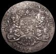 London Coins : A159 : Lot 2105 : Netherlands - Holland Ducaton (Silver Rider) 1758 KM#90.2 with star countermark on the obverse, a va...