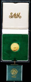 London Coins : A159 : Lot 296 : Rhodesia 10 Shillings 1966 KM#5 Proof nFDC in the box of issue
