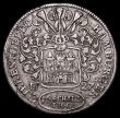 London Coins : A159 : Lot 3139 : German States - Hamburg 16 Schillings (Half Mark) 1727 IHL KM#367 Good Fine