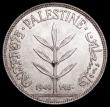 London Coins : A159 : Lot 3348 : Palestine 100 Mils 1940 KM#7 Unc and starting to tone