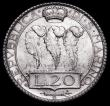 London Coins : A159 : Lot 3373 : San Marino 20 Lire 1933R KM#11 UNC and lustrous with light cabinet friction