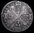 London Coins : A159 : Lot 3377 : Scotland 10 Shillings 1687 S.5641 VG the reverse slightly better, the obverse with some scratches on...