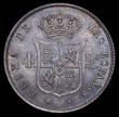 London Coins : A159 : Lot 3404 : Spain 4 Reales 1855 Barcelona mint, mintmark 8-pointed Star KM#600.1 EF and lustrous with pleasing t...
