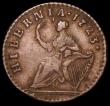 London Coins : A159 : Lot 3493 : USA/Ireland Farthing 1723 Woods Breen 172 NVF/GF
