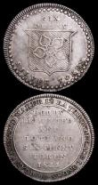London Coins : A159 : Lot 384 : Shilling 19th Century Somerset - Bristol 1811 Garratt, Terrell, Bird, Beck and Grigg Davis 23 NVF, S...