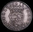 London Coins : A159 : Lot 826 : Halfcrown 1658 Cromwell ESC 447 GF/NVF the obverse with some old tooling on the hair and wreath, vis...